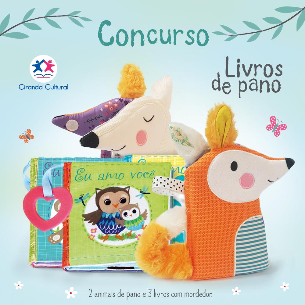 Kit Livro de Pano para seu bebê