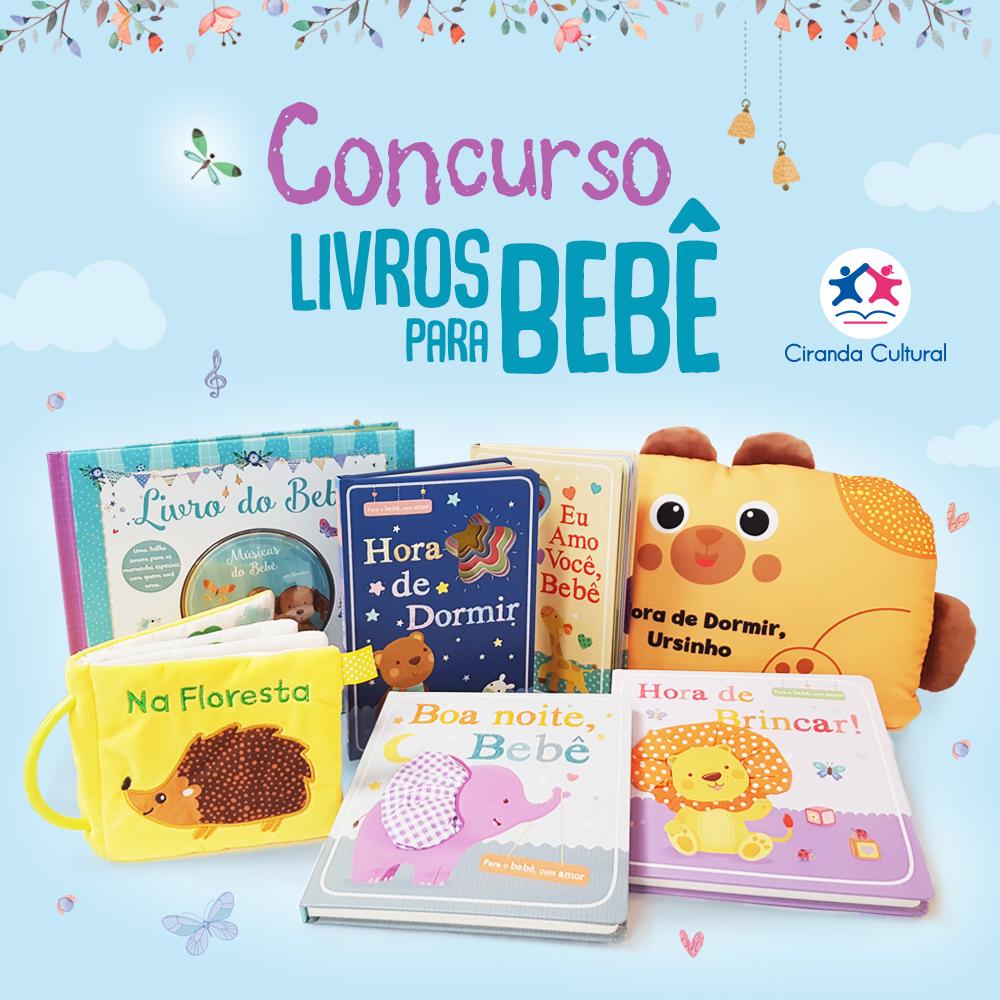 Kit de livros carinhosos e divertidos para seu bebê